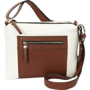 Qulited PU Leather Fashionable Ladies Bag Top Zip Crossbody Bag pictures & photos