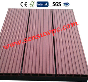 Sensu WPC DIY Decking Tiles for Outerdoor /Garden pictures & photos