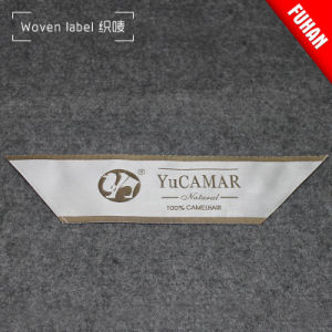 Customized Factory Home Textile Cloth Fabric Damask Woven Labels pictures & photos