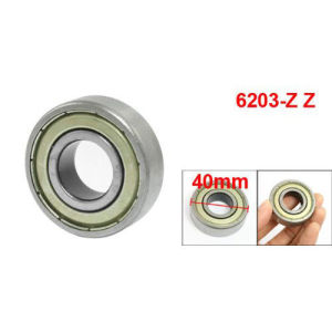 Double Metal Shields Ball Bearing 6203zz Deep Groove Ball Bearing pictures & photos