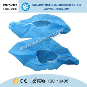 Medical Disposable Surgical Anti-Slip Nonwovon Shoe Cover pictures & photos