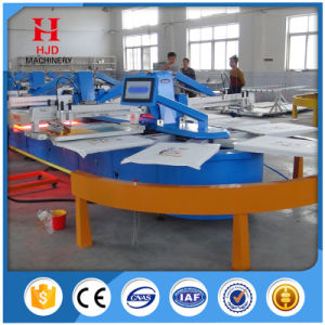 8 Colors Automatic Oval Silk Screen Printing Machine pictures & photos