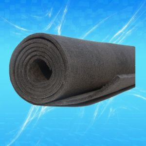 Thickness 5mm Soft Graphite Felt for Vacuum Furnace
