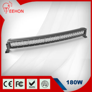 Popular Wholesale Used Light Bars 180W Epistar Curved Double Row Truck Light Bars pictures & photos
