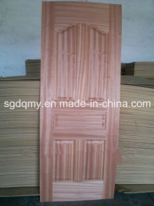 3mm-4.5mm Hot Sale Design Moulded Melamine Door Skin pictures & photos