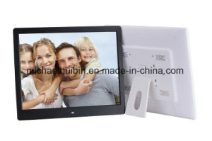New Design 16inch Vertical LCD Screen Advertising Picture Frame (HB-DPF1601) pictures & photos