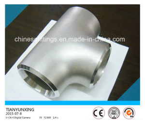Wp321 Seamless Stainless Steel Pipe Fittings Equal Tee pictures & photos