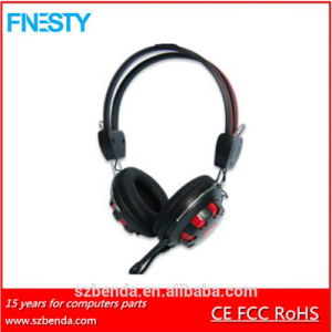 2016 New Cheap Wired Stereo Headset with Volume Contral