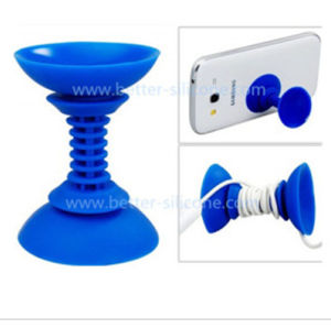 Promotional Silicone Rubber Phone Chuck Bracket pictures & photos