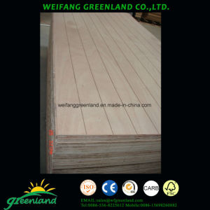 15mm Slot Hardwood Core Plywood pictures & photos
