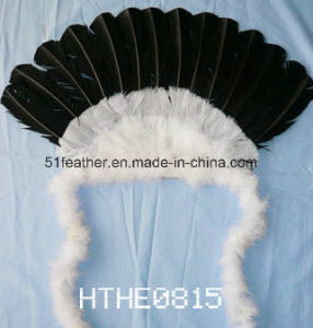 Cheapest Handmade Indian Feather Headdress (party, Celebrating, Dionysia, costume) pictures & photos