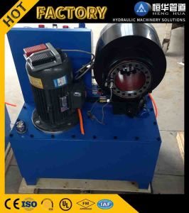 Wholesale Ce Finn Power Hydraulic Electric Hose Crimping Machine for Sale pictures & photos