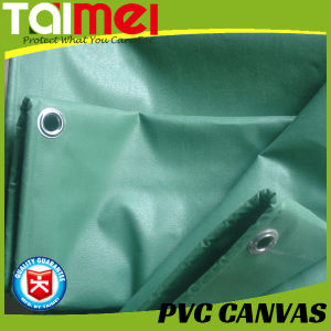 Fire Retardant/Fr PVC Canvas with UV Treated pictures & photos