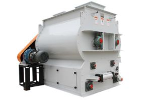 Horizontal Screw Chicken Feed Mixer pictures & photos