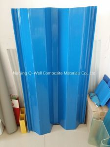 FRP Panel Corrugated Fiberglass Color Roofing Panels W172092 pictures & photos