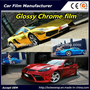Glossy Chrome Film Car Vinyl Wrap Vinyl Film for Car Wrapping Car Wrap Vinyl pictures & photos