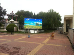 P6 P8 Outdoor Full Color Video LED Display for Promotion