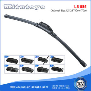 Wholesale Auto Parts Multi-Functional 11 Adapters Soft Gum Brush Windshield Wiper Blade pictures & photos