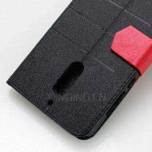 Wallet Flip Cover Letaher Case for Nokia 5/6/9 pictures & photos