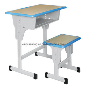 Primary Elementary Grade High School Student Classroom Furniture (7504) pictures & photos