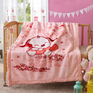 Double Thick Raschel Blanket for Children pictures & photos