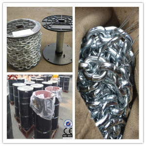 Iron Galivanized Welded Link Chain pictures & photos