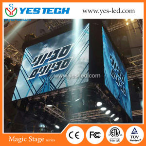 Mg7 P5.9 Full Color Video LED Display Screen Cube pictures & photos