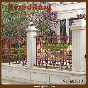 Aluminium Fence for Garden, Aluminium Courtyard Railing pictures & photos