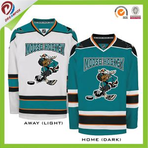 OEM Men′s Sublimated Youth Cheap Team Custom Made Hockey Jersey Made in China pictures & photos