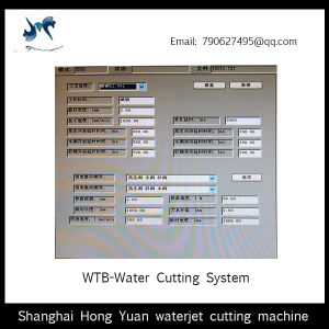 High Precision Waterjet Cutting Machine Control System pictures & photos