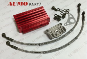 Oil Cooler Device C for C50-125cc Engines Dirtbike Parts pictures & photos