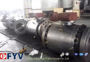 ANSI Full Bored Cast Steel Trunnion Mounted Ball Valve pictures & photos