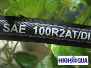 Hydraulic Hose Rubber Hose SAE100 R3/DIN En 854 3te pictures & photos