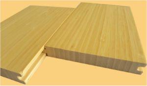 Carbonized Vertical Bamboo Flooring pictures & photos