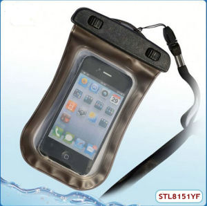 China Jelly TPU Waterproof Case for HTC One M7