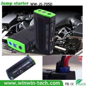Dual USB Output Jump Starter with Flash Light for Torch and Sos Function with 3 LEDs