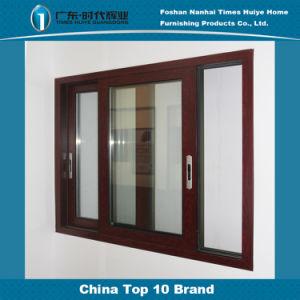 Wooden Grain Safety Aluminum Windows Interior Aluminium Windows Room Windows pictures & photos