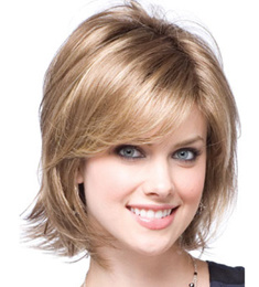 Kanekalon Fibre Short Style Synthetic Hair Machine Made Wig pictures & photos