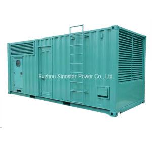 800kw 1000kVA Soundproof Generators with Cummins Diesel Engine