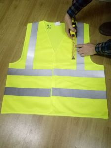 Security Protection High Visibility Yellow Reflective Safety Vest pictures & photos