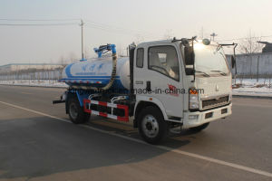 China Brand Suction Sewage Truck/Garbage Truck with 4X2 Driving Type pictures & photos