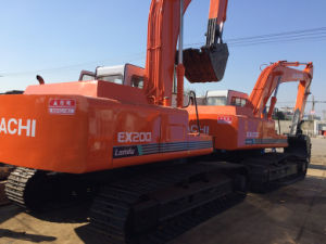 Cheap and Popular Used Crawler Excavator Hitachi Ex200-1 Without Computer pictures & photos