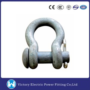 Vic Pole Line Hardware Galvanzied Anchor Shackle pictures & photos