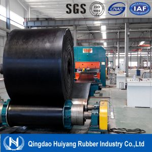 Chemical Industry Fabric Polyester Ep Acid and Alkali Resistant Rubber Conveyor Belt pictures & photos