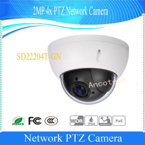 Dahua 2MP WDR 4X Waterproof PTZ Camera (SD22204T-GN) pictures & photos