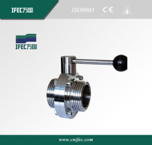 Sanitary Thread Butterfly Valve pictures & photos