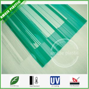 UV Coated Unbreakable Corrugated PC Board Shaped Polycarbonate Sheets pictures & photos