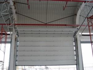 Heavy Duty Industiral Sectional Garage Door, with Swing Door in Door pictures & photos