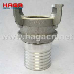 Aluminum Guillemin Coupling Serrated Hose Shank with Locking Ring pictures & photos