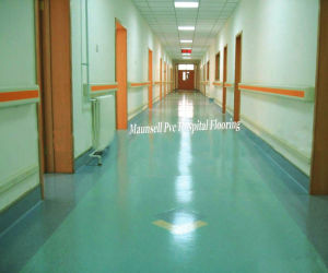 Professional Homogeneous and Laboratories Used PVC Flooring pictures & photos